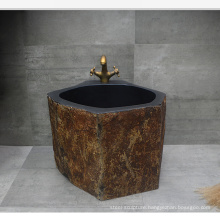 Solid natural marble bathroom used mop sink for sale