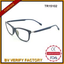 Популярные моды дизайн Оптовая очки Tr90 чтения Очки/оптические рамы Tr15102