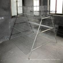 A gaiola a mais barata da bateria da camada da galinha de Chick Coop feita em China