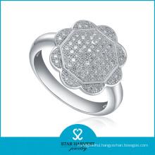Genuine Polishing 925 Sterling Silver Ring for Free Sample (R-0021)