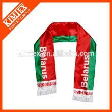 OEM football fan knitted sport scarf