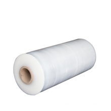 China Factory Customization Transparent 23 Micron Machine LLDPE Stretch Printing  Film for Industrial packaging