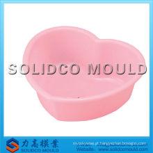 bacia de plástico bacia redonda novo molde de injeção bacia de design