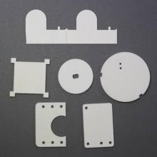 Cerâmica de nitreto de alumínio de sinterização de transmissão óptica
