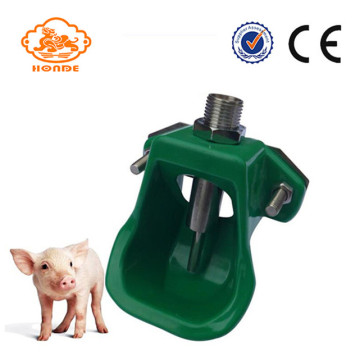 Kunststoff Green Pig Drinker Nippel Waterer Bowl