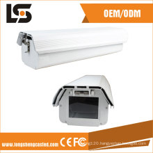 Traffic Monitoring IP66 Waterproof CCTV Bullet Camera Housing for Security Protection