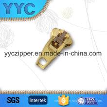 Top qualité supérieure Yg Brass Zipper Slider pour pantalons