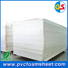 Fabricante de chapa de espuma de PVC blanco en China