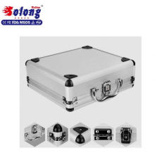 Aluminum professional light weight microblading kit portable cosmetic tattoo carry case for semi permanent