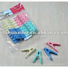 shunxing barata práctica agradable fuerte clavija de plástico de tela con alta calidad