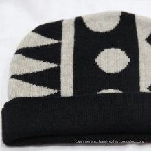 Вяжу на заказ шапочки пом пом/70% шерсть 30% кашемир beanie шляпа/вязаная шапка жаккард