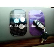 almohadilla antideslizante del teléfono móvil, cojín antideslizante mágico, esteras pegajosas del coche del gecko