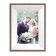 High Quality wholesale Wedding Gift Wood Picture Frame Art Photo Wall Wood wedding  picture Frame for home decoration