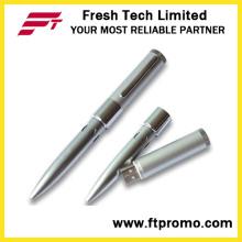 Buraco de seis caneta estilo USB Flash Drive (D401)