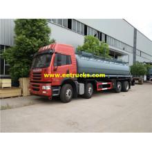 5000 Gallons FAW Chemical Liquid Tank Trucks