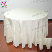 Banquet Table Cover Jacquard Table Cloth (YC-0286)