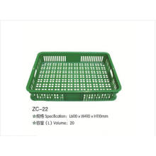 Plastic Vegetable Storage Basket From Factory