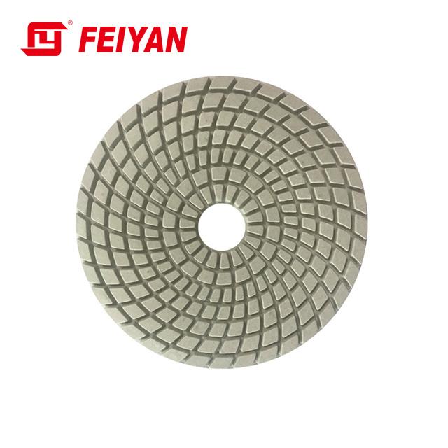 7-Step Abrasive Wet Flexible Polishing Pad for Stone