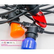 SLT-122 UL-Zulassung IP44 wasserdicht JT-3 Amerika Stecker Netzkabel Lichter mit Lampenfassung