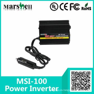 Inversor de corriente de onda sinusoidal para coche de CC a CA de baja potencia de 100 ~ 300 W