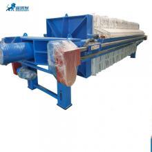 Filtro prensa de aço carbono para resíduos municipais