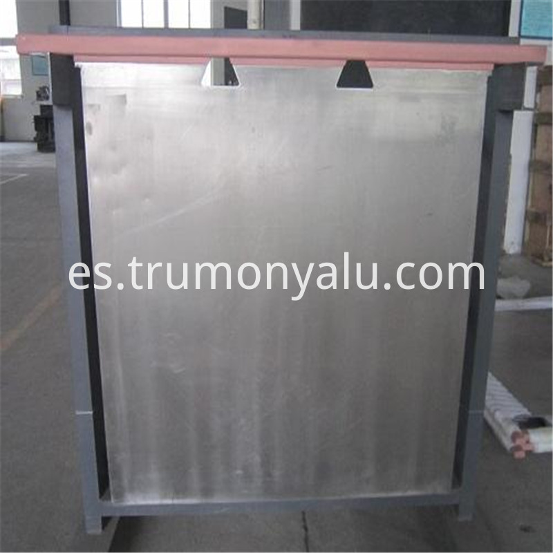 Cathodes In Zinc Electrolyze Aluminum Sheet01