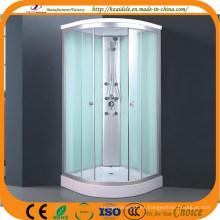 Cuarto de ducha completo de cristal pintado blanco (ADL-8705)