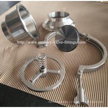 304 / 316L Нержавеющая сталь Санитарный обратный сварной обратный клапан