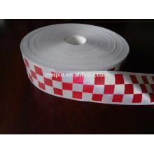 Hi-VIZ checker tape /3 row reflective checker tape