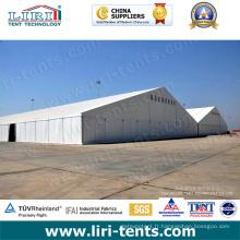 Grandes structures en aluminium pour tentes d'entrepôt temporaires 30-50 m
