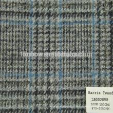 Marca britânica de confiança do tecido de jaqueta de homem fornecedor chinês