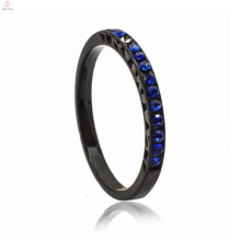 Fashionable Black Copper Imitation Alphabet Finger Ring Jewellery Showcase