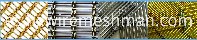 Metal curtain wall screen