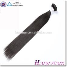 Meistverkaufte Produkte 8A natürliche Farbe gerade Menschenhaar Haarverlängerung
