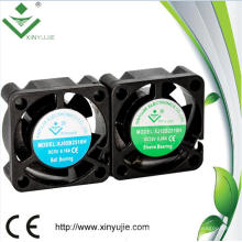 Ventilador micro de la CC de la prenda impermeable de 25m m Mini pequeño impermeable IP67 25 * 25 * 10m m