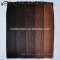2015 productos calientes de la llegada al por mayor Remy a granel real Remy cabello humano rubio / marrón claro