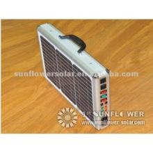 15W Малый портативный солнечный генератор