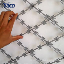 Anti-theft Sharp Galvanized Low Price Concertinal Razor Barbed Wire