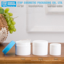 WJ-AB Serie 8g 15g 30g 50g 100g matt beenden gutes Handgefühl hochwertige Doppelschichten pp kosmetische Glas Runde