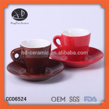 Chaozhou porcelain factory stoneware coffee cup,sonar,cake cup