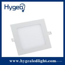 4W haute luminosité plat led panneau carré lumière