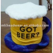 Barril de cerveza carnaval sombrero