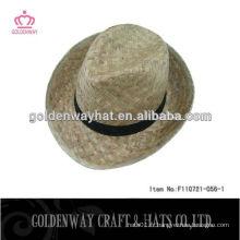 Chapeaux de fourrage en paille chapeaux de golf nature paille chapeaux de golf