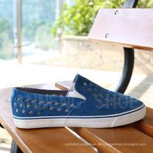 Fashion Style Gummi Outsole PU Obere Vulkanisierte Schuhe Snc-03053