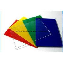 Placa de Acrílico Placa de Plexiglás Placa de PMMA