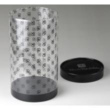 Прозрачные пластиковые цилиндрические трубки (круглый ящик из ПЭТ)