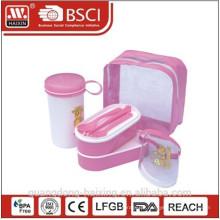 Rosa Multiple Mittagessen Essen-Container-Box
