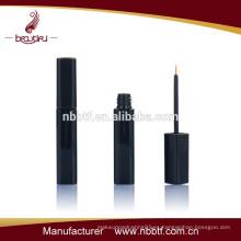 Tubo de eyeliner cuadrado negro de la forma del plástico cosmético