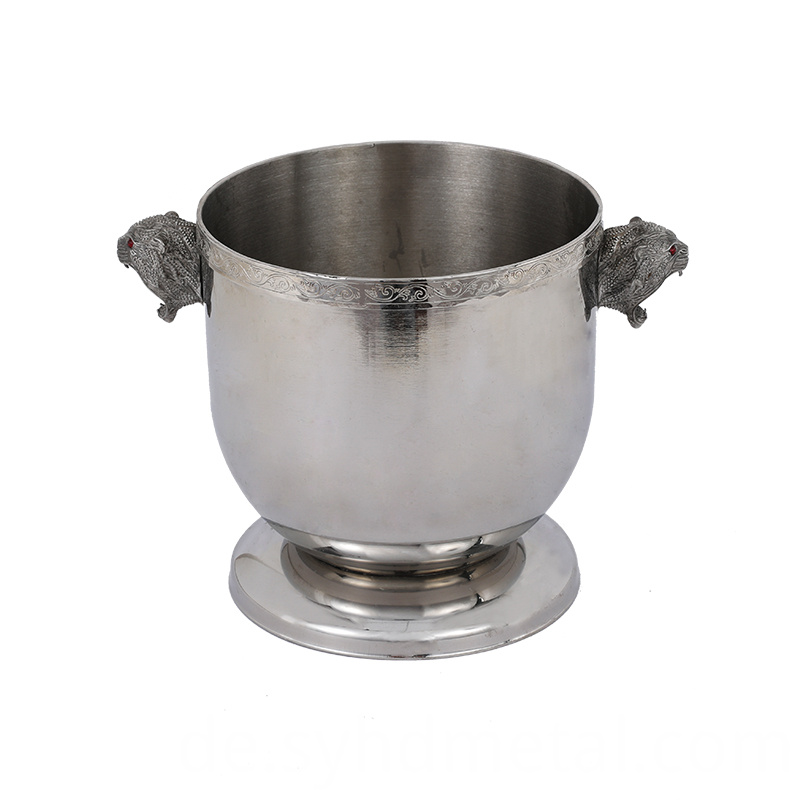 Stainless Steel Ice Bucket cube