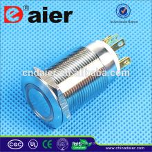 Daier LAS1GQ-19F-11E Interruptor de Botão Iluminado